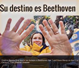 Su destino es Beethoven