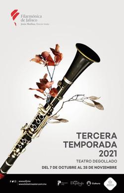 Tercera temporada Orquesta Filarmónica de Jalisco
