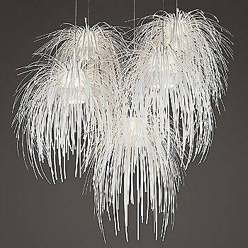 "The Arturo Alvarez ""Tina"" Pendant looks like frozen fireworks. Make sure you hire a licensed electrician to install such a complicated fixture."