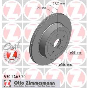 Dischi posteriori Impreza STI 316x20mm PCD5x114,3