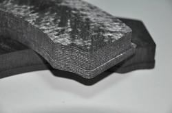 Carbon brake pads