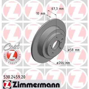 Dischi posteriori Impreza 2.0 turbo 266x10mm