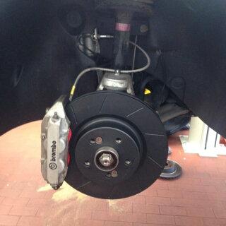 Dischi anteriori Clio/Megane RS da 312x28mm