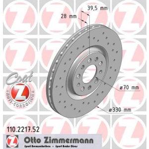 Dischi anteriori 159 2.4/3.2 - 330x28mm