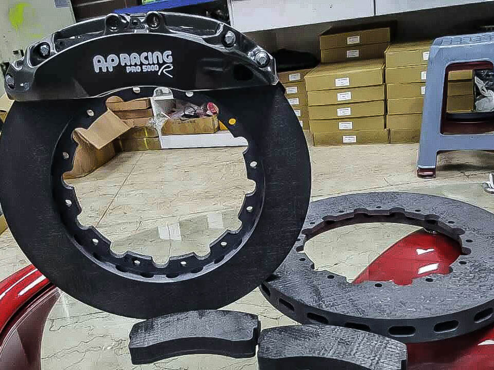 VAG Carbon brake kit