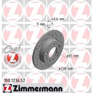 Dischi posteriori TT (8N) 230x9mm
