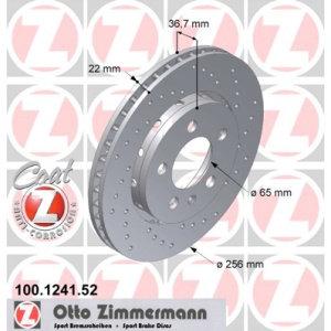 Dischi posteriori R32 256x22mm