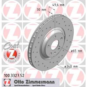 Dischi anteriori TT (8J) 3.200 340x30mm