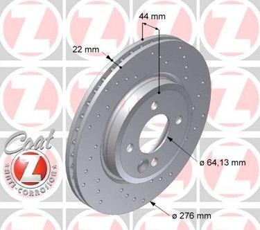 Dischi anteriori Mini One/Cooper/Cooper S 276x22mm
