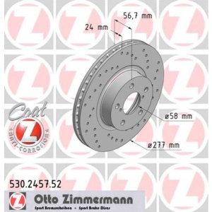 Dischi anteriori Impreza 2.0 turbo 277x24mm