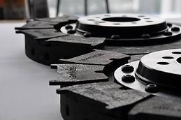 carbon-ceramic brake discs and carbon pads, dischi freno carboceramici amg, carbon ceramic brake disc, lamborghini carbon discs