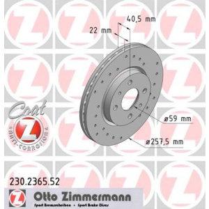 Dischi anteriori Mito 0.9-1.4 257x22mm