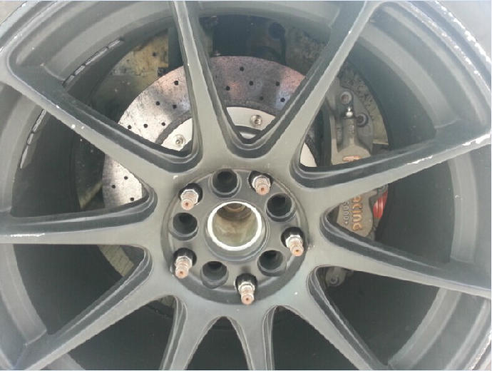 Carbon-ceramic racing