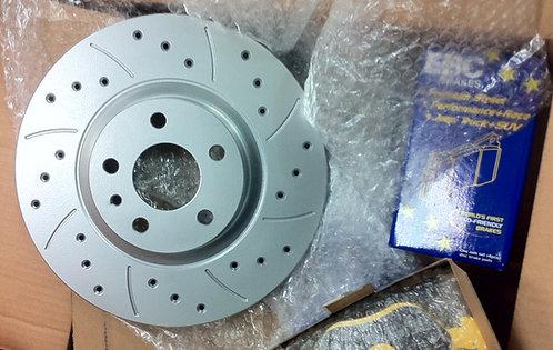 Dischi anteriori Giulietta 1.4TB/1.6Jtdm 281x26mm