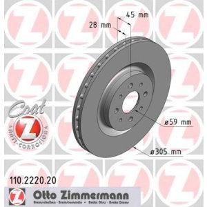 Dischi anteriori Mito 1.4TB 305x28mm