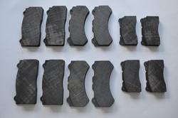 Nissan GT-R pads carbon