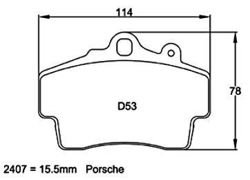Pagid Racing 2407 - Porsche Boxster/Cayman