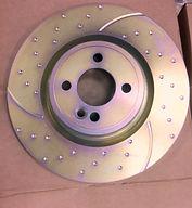 EBC turbo grooved disc 3GD, EBC discs, dischi freno sportivi baffati forati