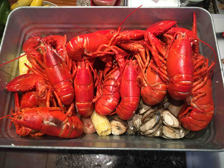 A Lobster Boil in Maine