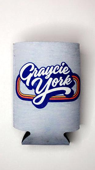 Graycie York Logo Koozie