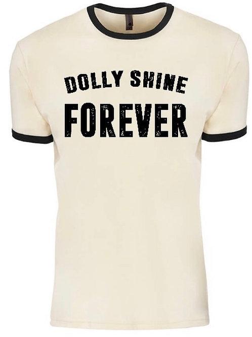 Dolly Shine Forever Ringer Tee