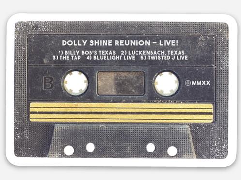 2020 Reunion Casette Sticker