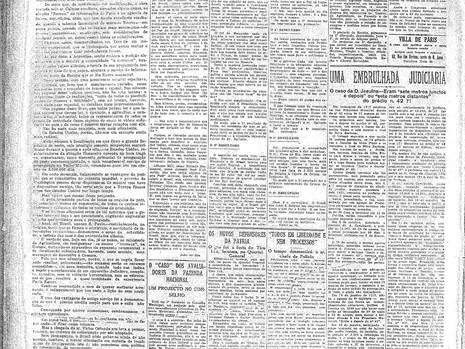 Segunda-feira, 18/10/1920