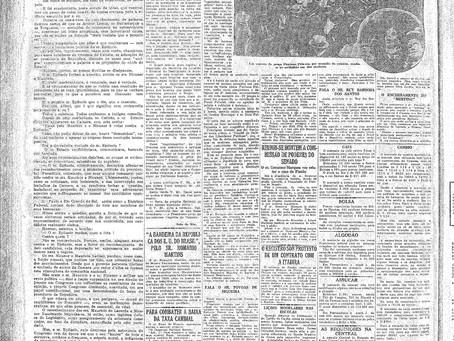 Terça-feira, 10/05/1921