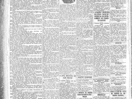 Quarta-feira, 26/01/1921