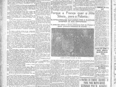 Segunda- feira, 09/05/1921