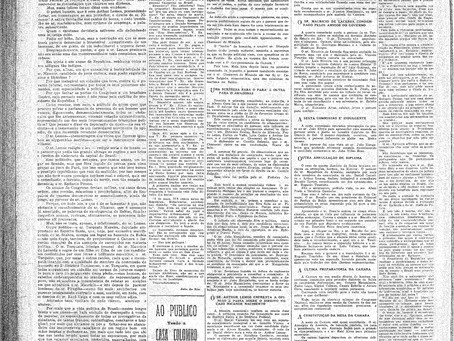 Terça-feira, 03/05/1921