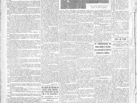 Segunda-feira, 25/10/1920
