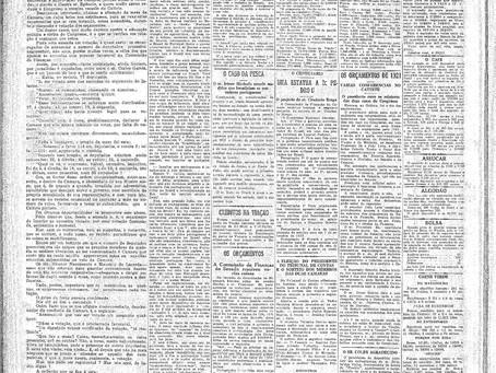 Terça-feira, 28/12/1920