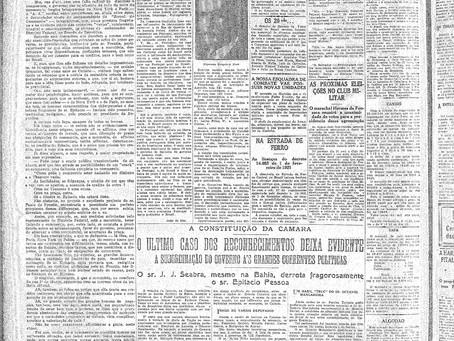 Terça-feira, 17/05/1921