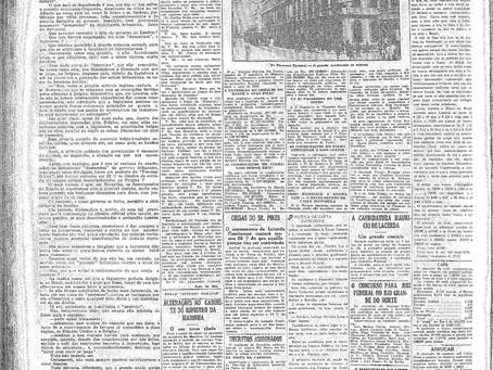 Domingo, 23/01/1921