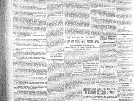 Quarta-feira, 16/03/1921