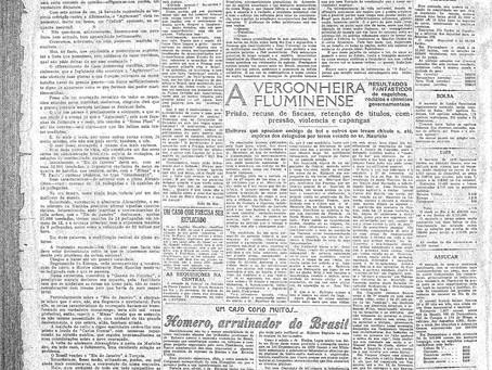 Quinta-feira, 03/03/1921