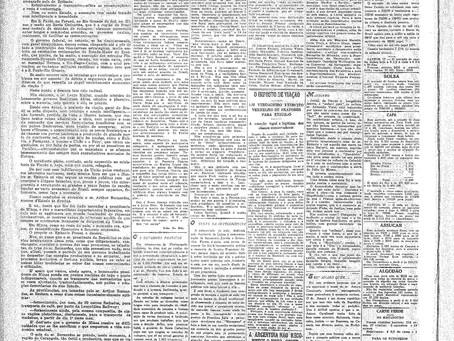 Terça-feira, 18/01/1921