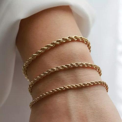 THE MARIELA  ♡ 14K Gold Vermeil Plated Knot Bracelet
