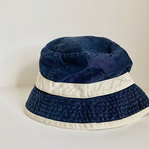 VINTAGE SMALL NAVY/WHITE BUCKET HAT
