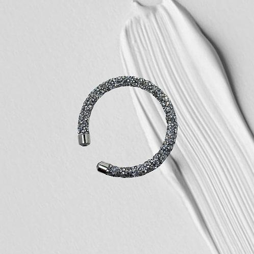 Rhinestone Crystal Dust Cuff Bracelet
