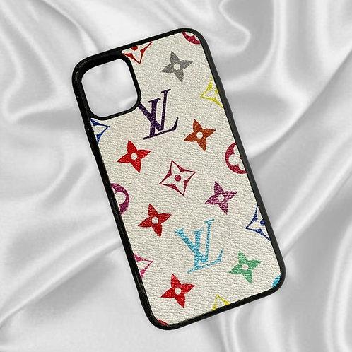 Colourful Monogram Louis Logo iPhone 11 Case
