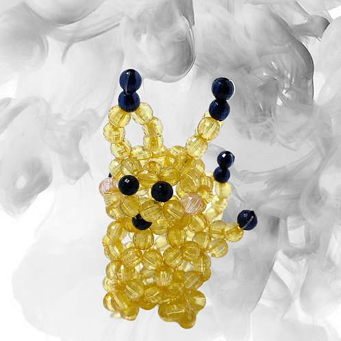 Handmade Mini Pikachu Beaded Home Decor