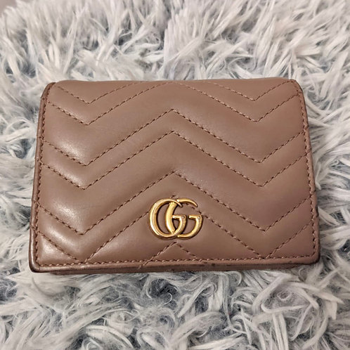 GUCCI AUTHENTIC GG MARMONT CASE CARD WALLET