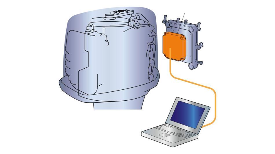 Boîtier de commande du moteur ECM