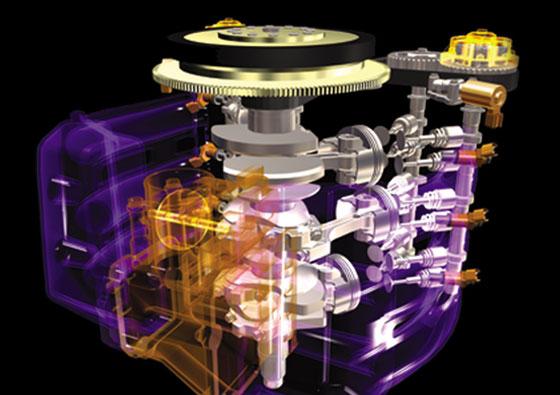 Une accélération digne d'un vrai V6