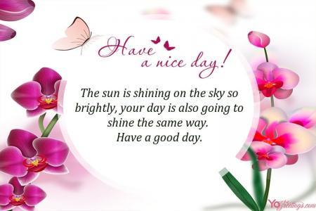 Enjoy the Day!