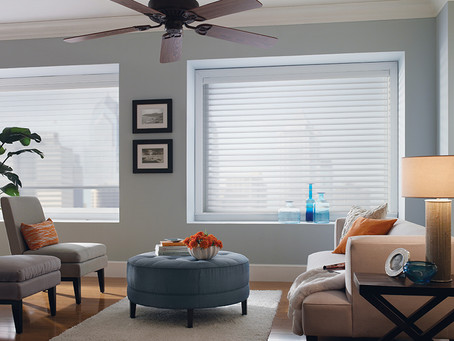 Motorized Sheer Horizontal Shades