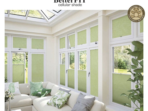 NEW - BetterFIT Cellular Shades