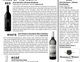 The 2020 Wine Newsletter -V3- Has Arrived!